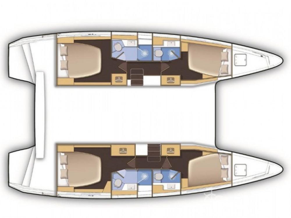 Location Catamaran à Marina Baotić - Lagoon Lagoon 42