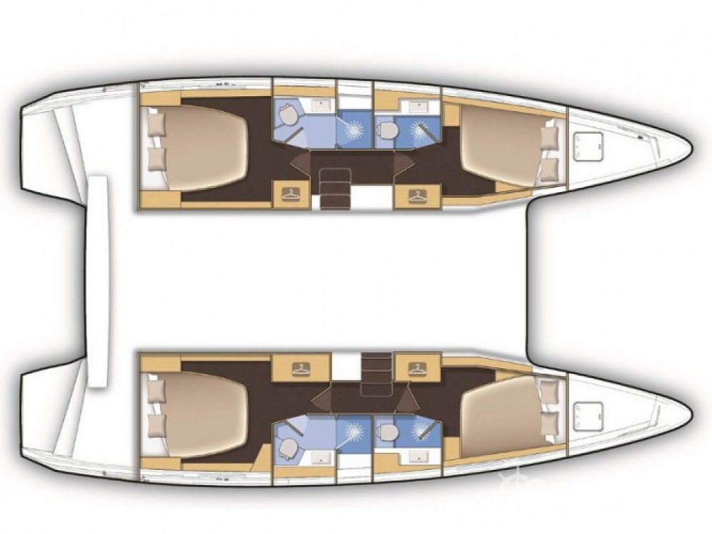 Location bateau Marina Baotić pas cher Lagoon 42