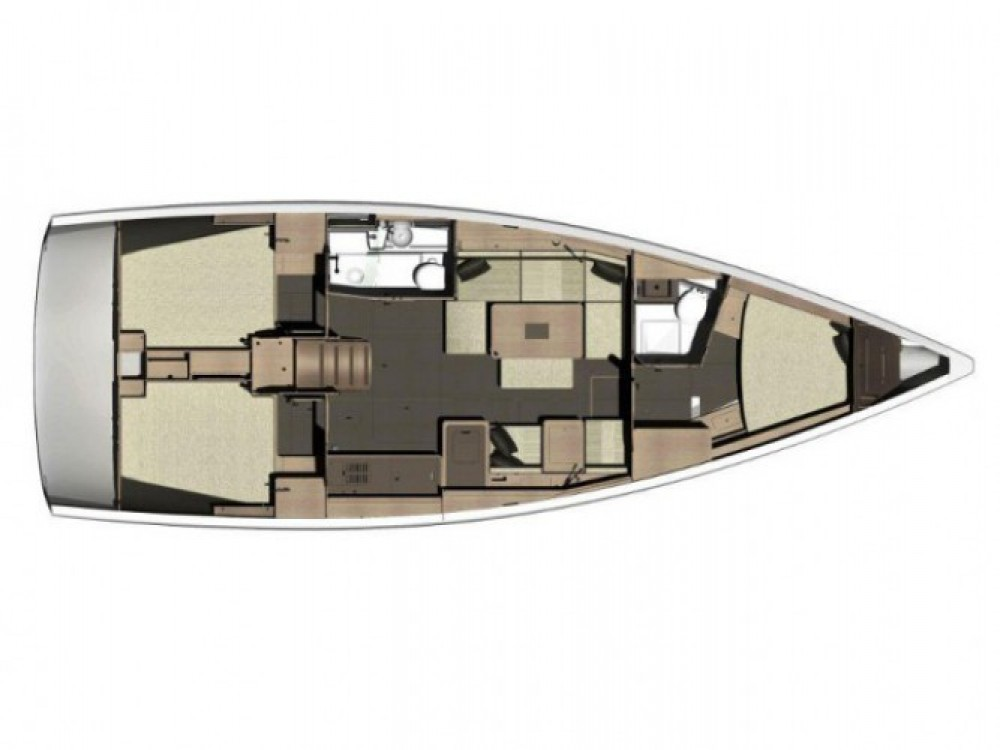 Location bateau Dufour Dufour 410 Grand Large à Primošten sur Samboat