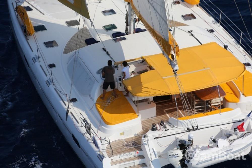 Location Catamaran Privilege-Marine avec permis