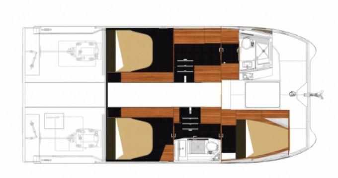 Location bateau Fountaine Pajot My 37 à La Trinité-sur-Mer sur Samboat