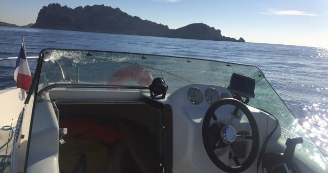 Rental Motor boat Mls with a permit
