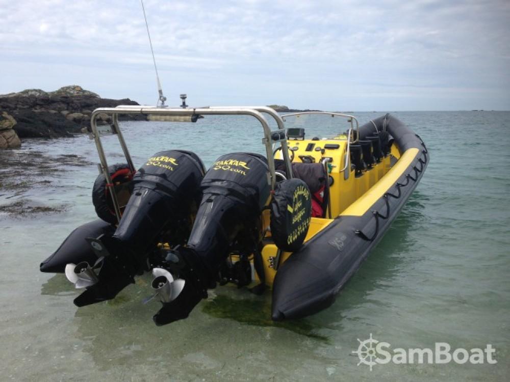 Location bateau Xs-Ribs semi rigide à Granville sur Samboat