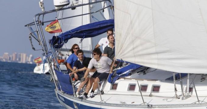 Bénéteau Oceanis 510 entre particuliers et professionnel à Valence
