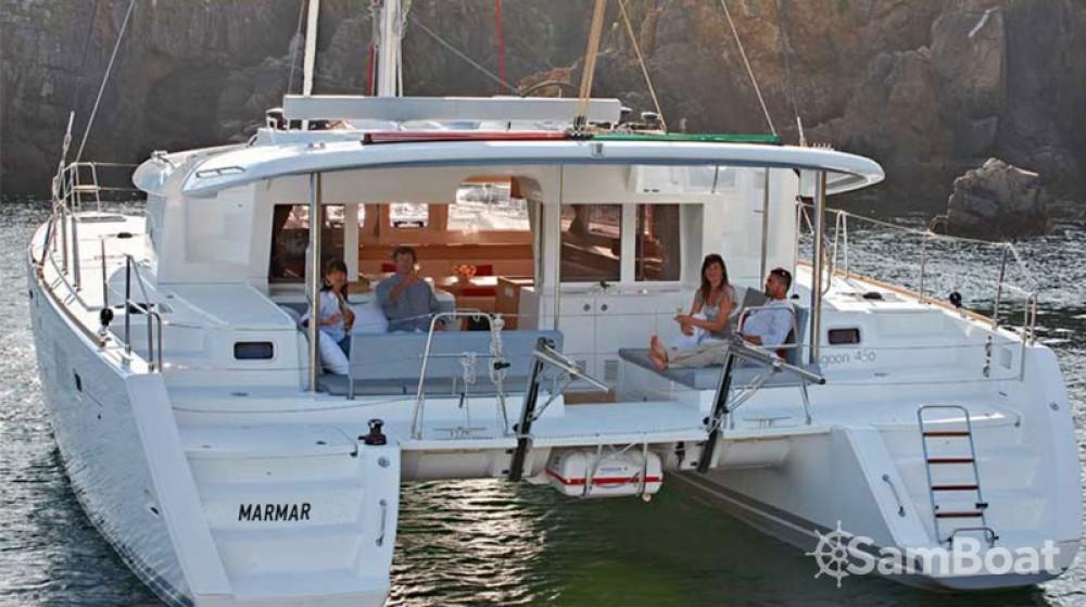 Location Catamaran à Álimos - Lagoon Lagoon 450