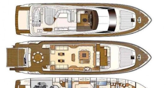 Location Yacht à Saint-Tropez - Ferretti 27