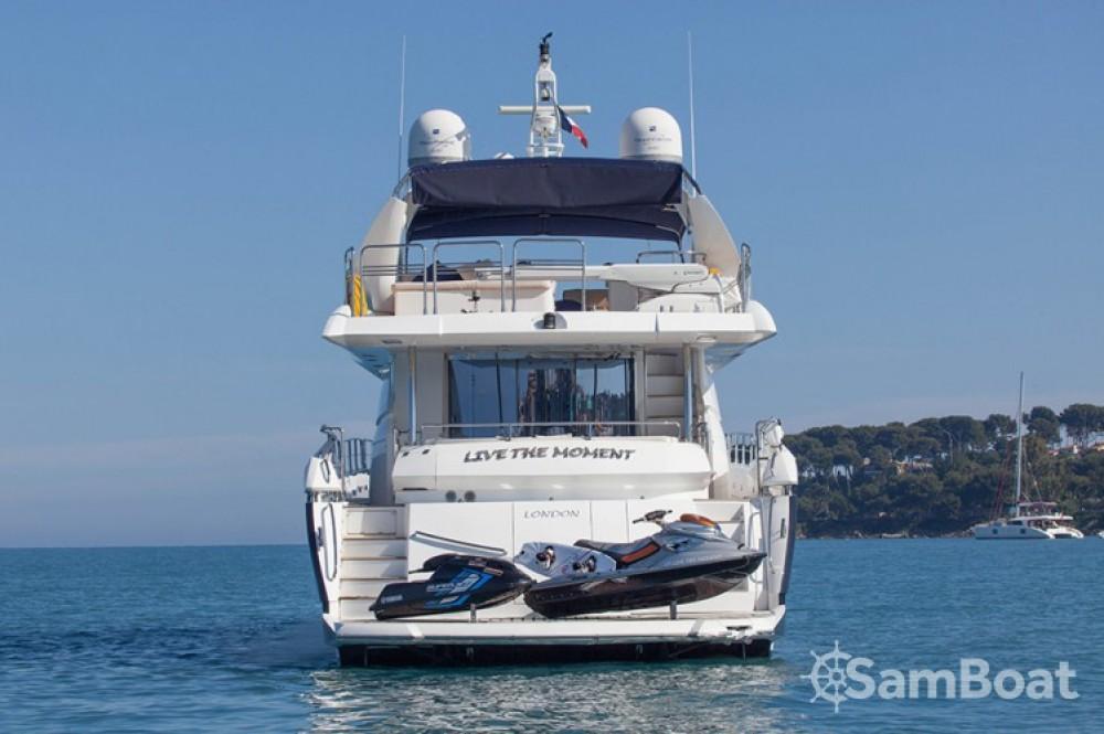 Louer Yacht avec ou sans skipper Sunseeker à Saint-Tropez