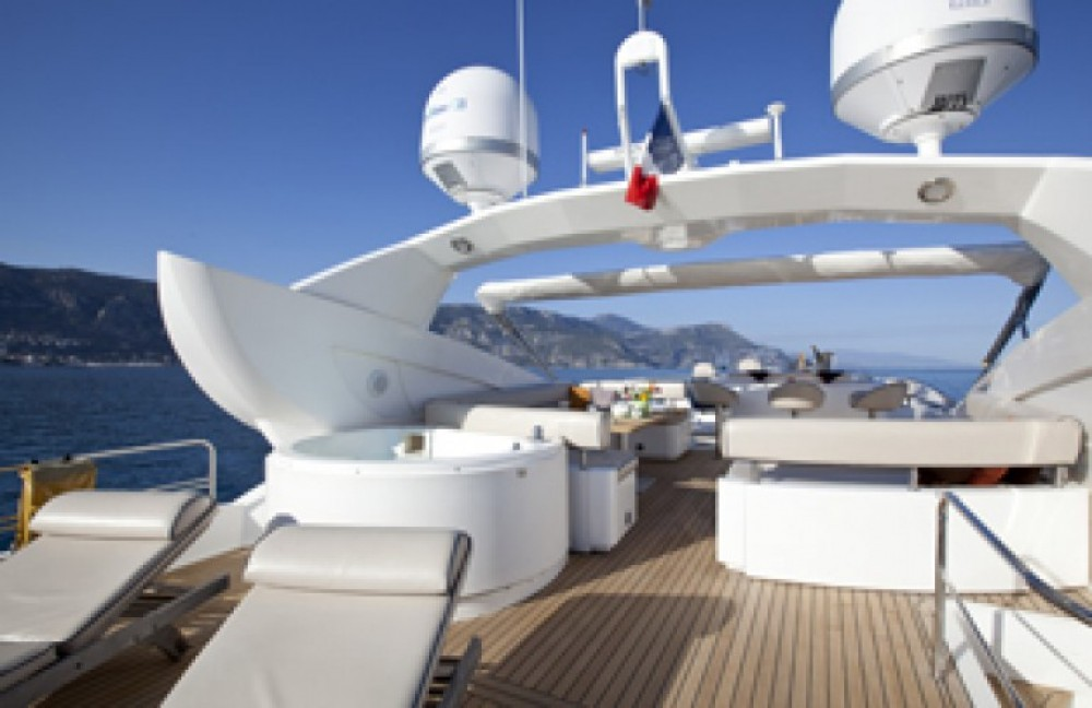 Location Yacht à Saint-Tropez - Sunseeker 28