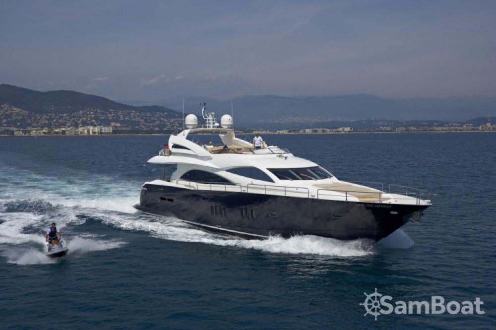 Location bateau Sunseeker 28 à Saint-Tropez sur Samboat