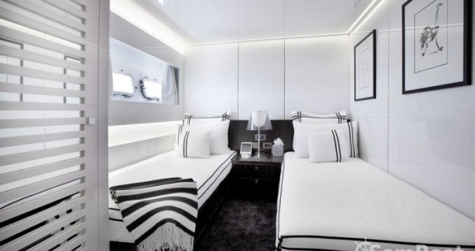 Location yacht à Saint-Tropez - Arcadia 35 sur SamBoat