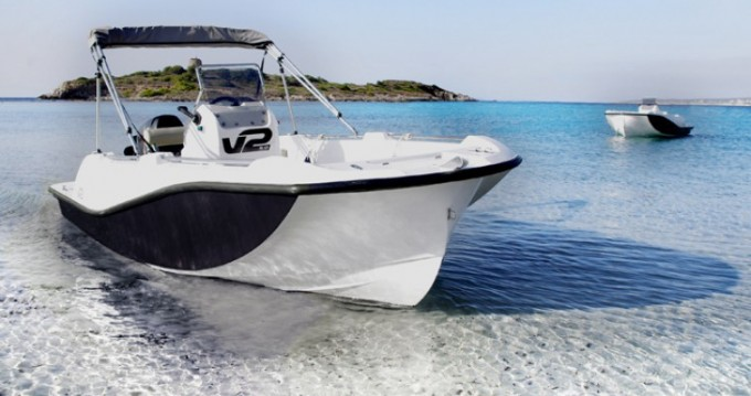Rental Motor boat V2-Boat with a permit