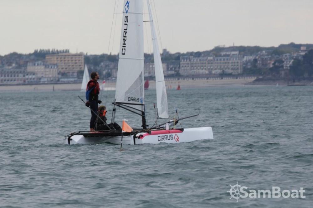 Location Catamaran à Saint-Malo - Catamaran-F16 Cirrus Q