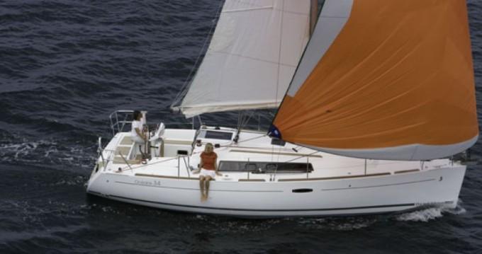 Bénéteau Oceanis 34 between personal and professional Saint-Gilles-Croix-de-Vie