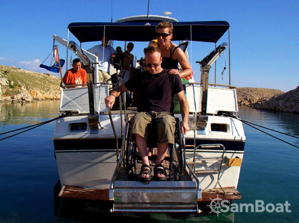 Location bateau Trawler Wheelchair accessible boat à Zadar sur Samboat