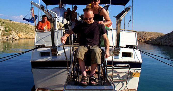 Location Bateau à moteur à Zadar - Trawler Wheelchair accessible boat