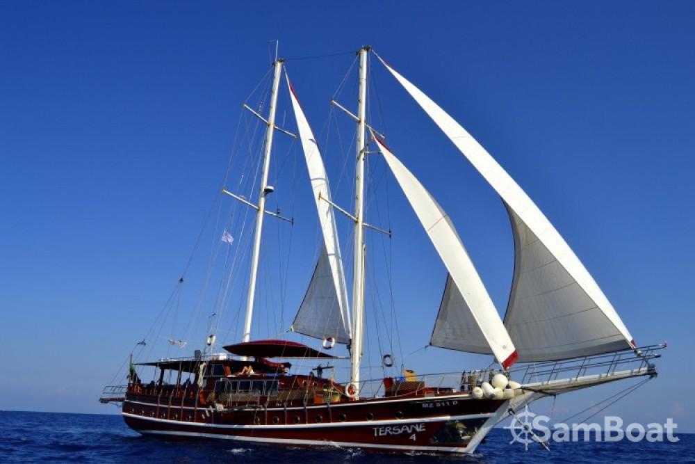 Noleggio barche Palermo economico caicco
