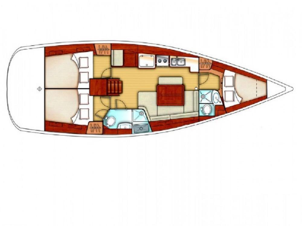 Louez un Bénéteau Oceanis 40 à Palamós