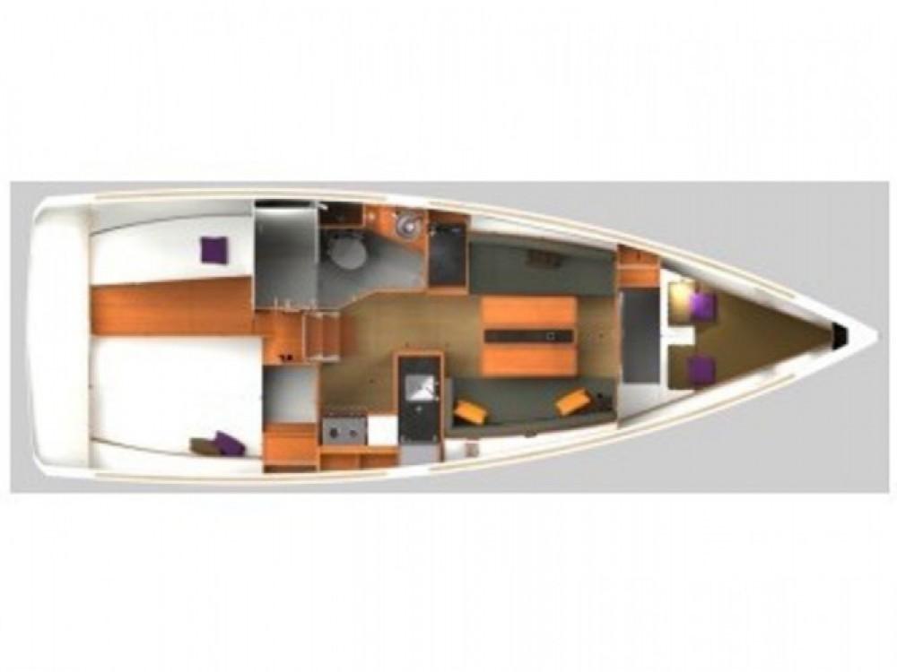 Location yacht à Palma de Majorque - Jeanneau Sun Odyssey 349 sur SamBoat