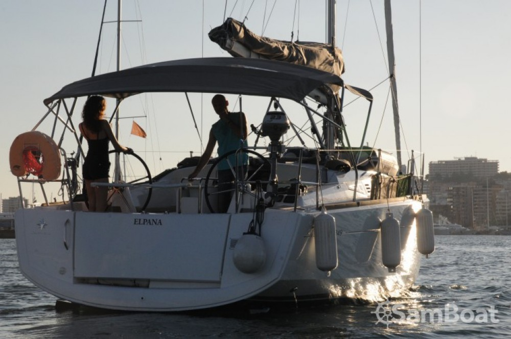 Location bateau Palma de Majorque pas cher Sun Odyssey 349