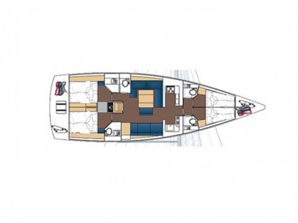 Dufour Dufour 512 GL entre particuliers et professionnel à Capo d'Orlando Marina