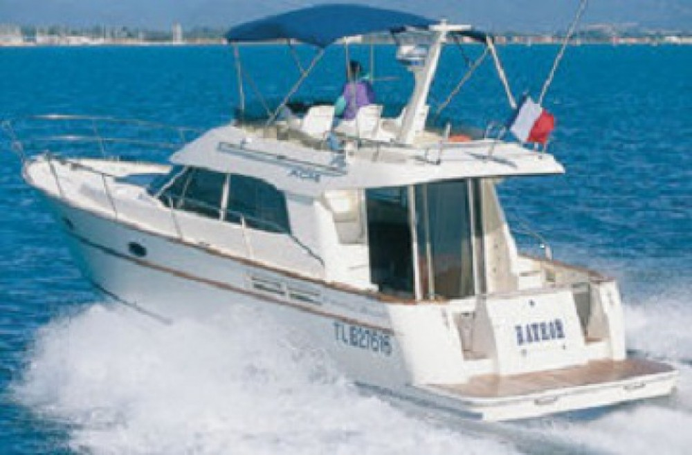 Rental Motor boat Acm with a permit