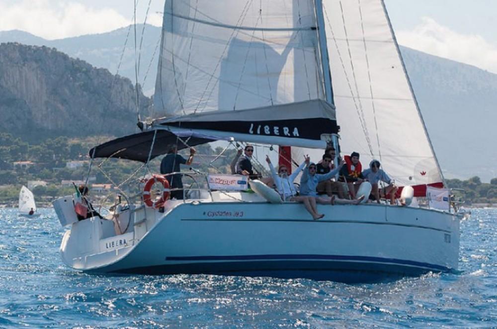 Barca a vela a noleggio Palermo al miglior prezzo