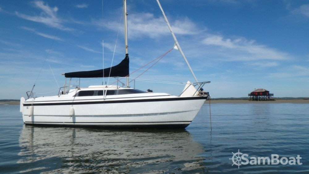 Rental Sailboat in Andernos-les-Bains - Mac-Gregor 26 X