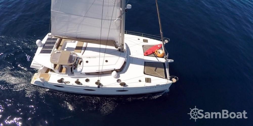 Location Catamaran à Athènes - Fountaine Pajot Berret