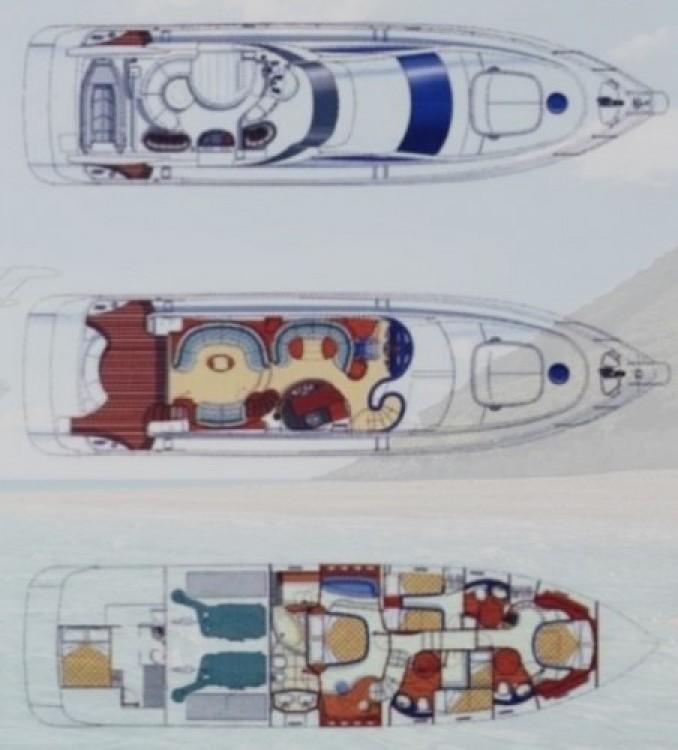 Azimut yacht entre particuliers et professionnel à Zákynthos