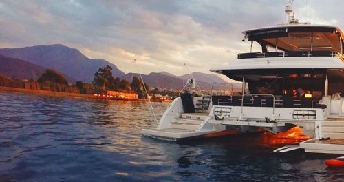Location yacht à Mykonos (Île) - Lagoon Lagoon 630 Motor Yacht sur SamBoat