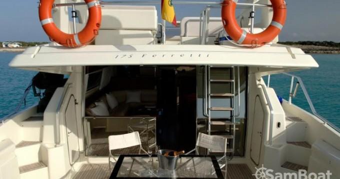 Location bateau Ferretti Ferretti 175 à Ibiza (Ville) sur Samboat