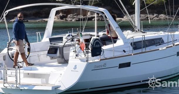 Location bateau Bénéteau Oceanis 45 à Cagliari sur Samboat
