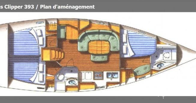 Rent a Bénéteau Oceanis 393 Clipper Carloforte