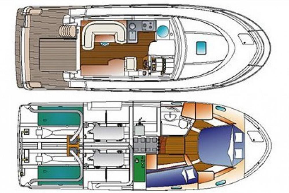 Location bateau Saint-Gilles-Croix-de-Vie pas cher Antares 980