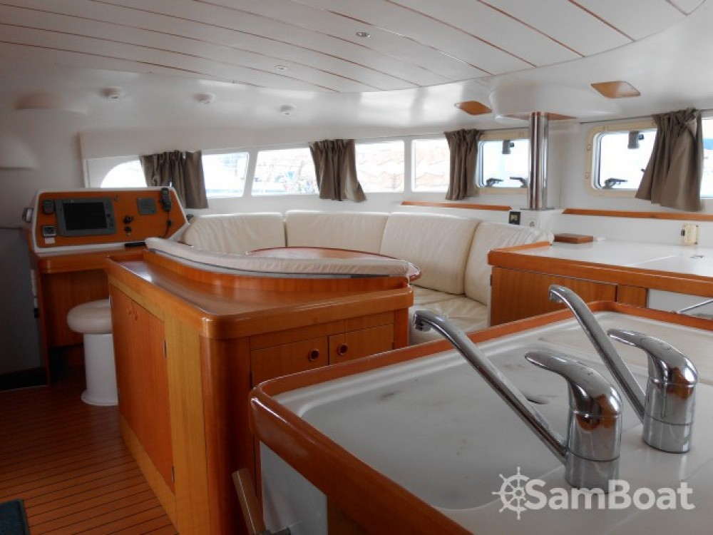 Location yacht à Antibes - Lagoon Lagoon 410 sur SamBoat