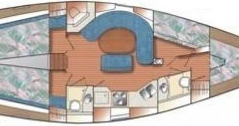 Location bateau Genova pas cher Catalina 42