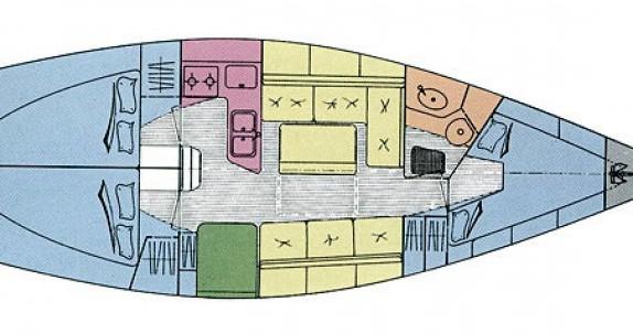 Location bateau Genova pas cher Gib Sea 352