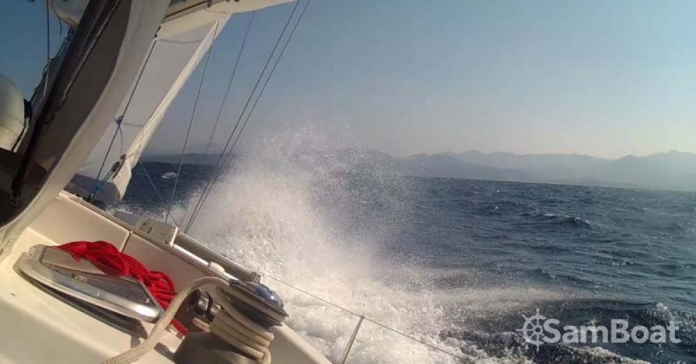 Location bateau Sardaigne pas cher Hanse 400
