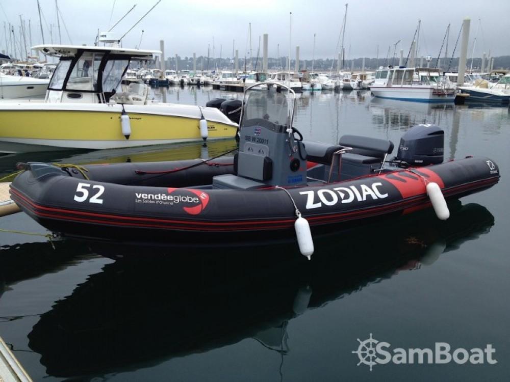 Rent a Zodiac Pro Open 750 Vendee Globe Pléneuf-Val-André
