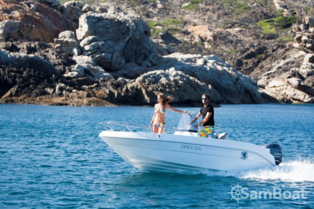 Location bateau Saint-Laurent-du-Var pas cher Pacific Craft 500 Open