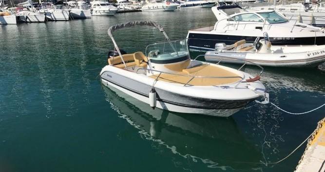 Louez un Sessa Marine Key Largo 20 à l'Estartit