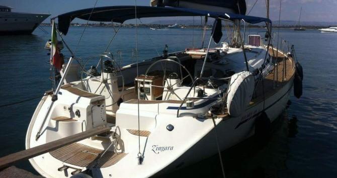 Boat rental Messina cheap Bavaria 49