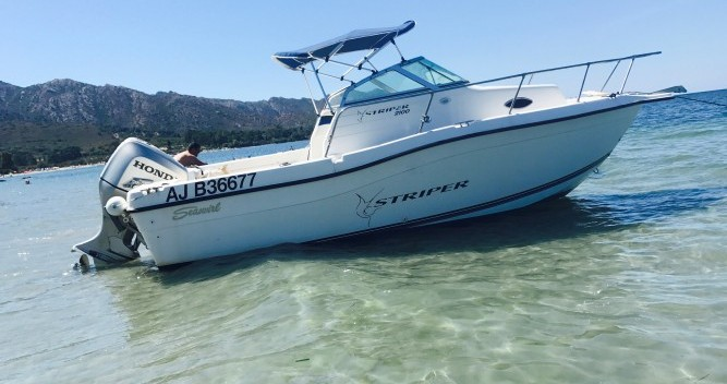 Louez un Seawril Striper2100 à Ajaccio