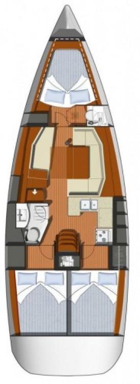 Louez un Jeanneau Sun Odyssey 39i à Bandol