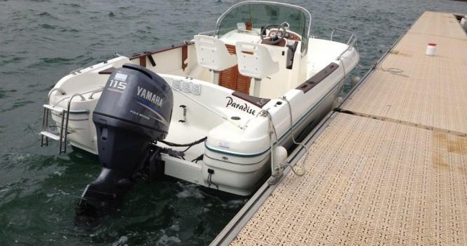 Location bateau La Trinité-sur-Mer pas cher Cap Camarat 625