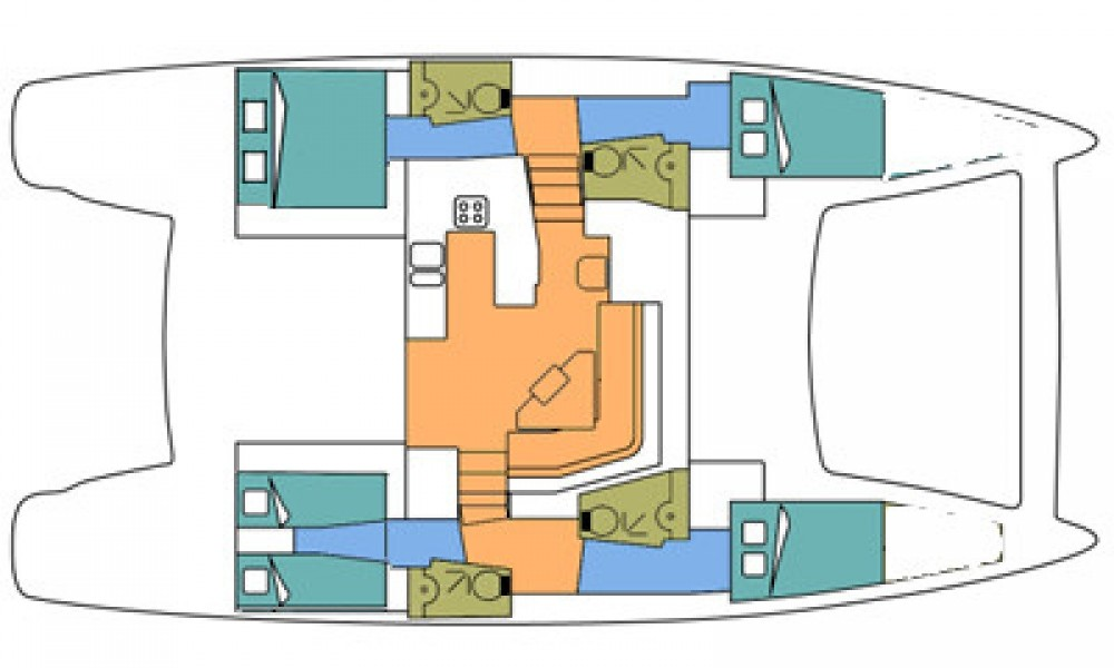 Location bateau Catana Catana 50 à Punaauia sur Samboat