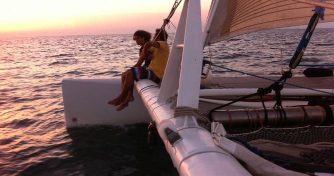 Location bateau Port-Camargue pas cher catamaran de course 60'