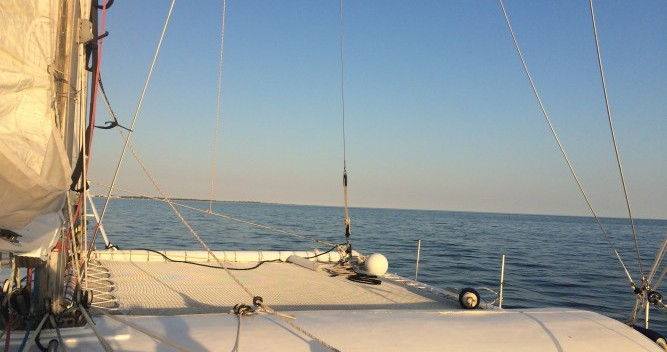 Location Catamaran à Port-Camargue - Launet-Sa catamaran de course 60'