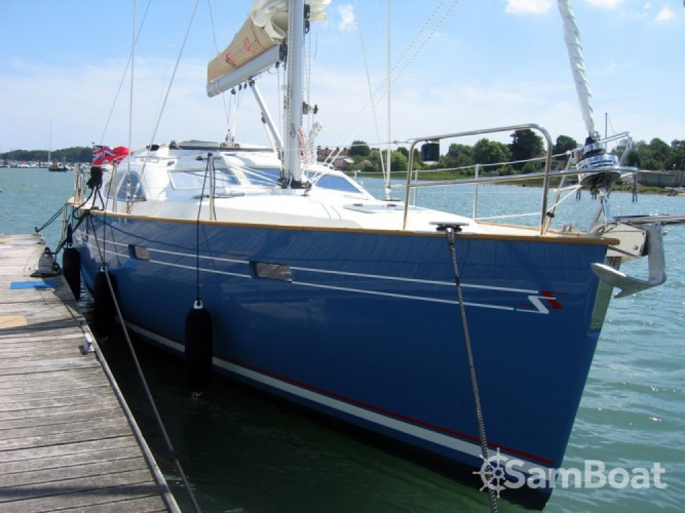 Hire Sailboat with or without skipper Southerly Eastleigh