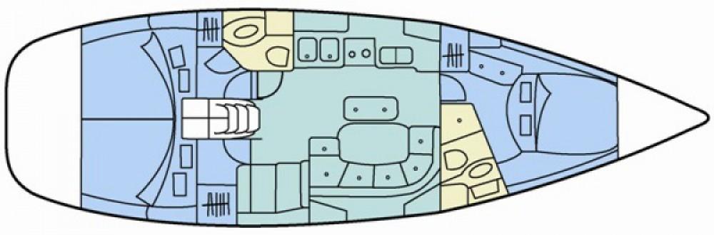 Location bateau Bénéteau Oceanis 423 à Eastleigh sur Samboat
